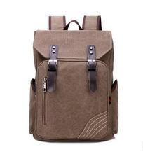 Mode für männer Rucksack Vintage Leinwand Rucksack Schultasche Reisetaschen Große Kapazität Reise Rucksack Schultasche Rucksack H123