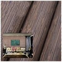 Рогоз защиту окружающей среды Рид завод стены бумаги природных ткань соломы китайский стиль обои для малыша комнате обои