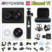 Xiaoyi yi cámara de acción cámara impermeable 1080 p 2 k 16mp wifi cam ambarella a7 deportes versión xiaomi yi internacionales