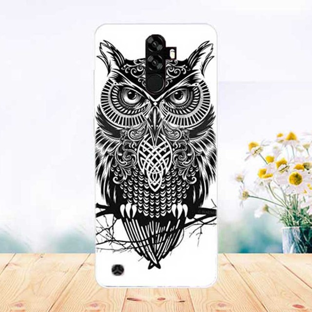 For Homtom S99 Case Cover Pattern Painted Colored Tiger Owl Rose Soft Tpu Case For Homtom S99 Fundas Capa Phone Sheer