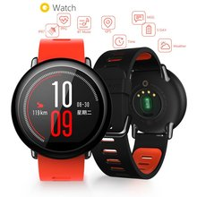 "Huami Amazfit Smart Sports Watch Real time GPS Glonass 1.34"" Gorilla Screen 320×300 Sport WIFI Bluetooth IP67 PK Forerunner 235"