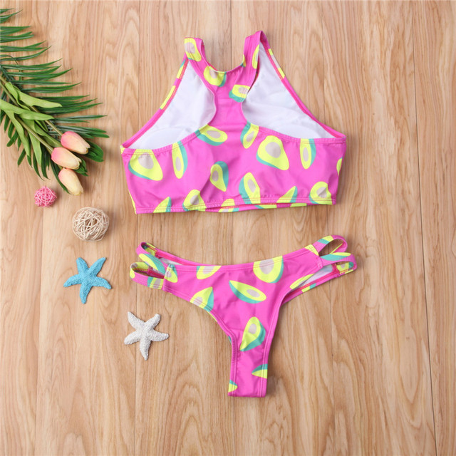 Pink Avocado Bikini/Swimsuit
