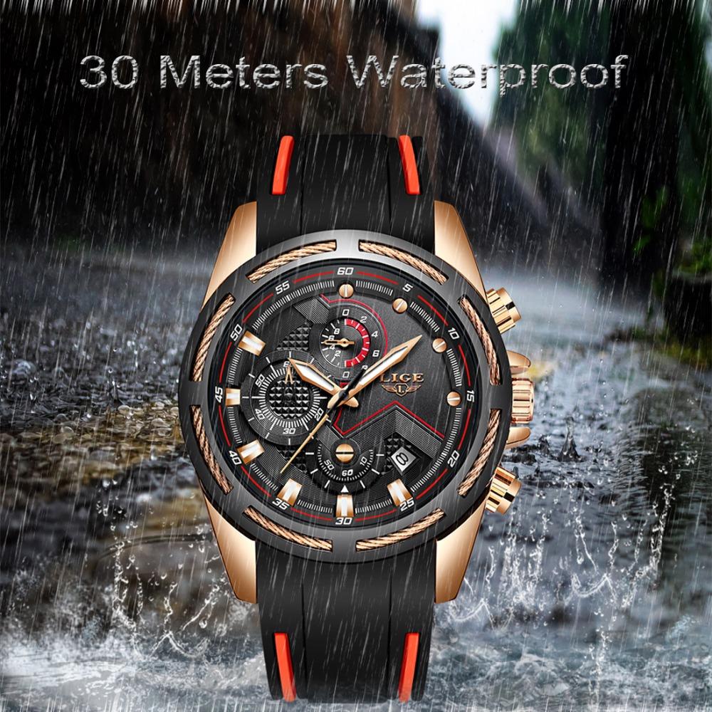 LIGE Reloj deportivo 4
