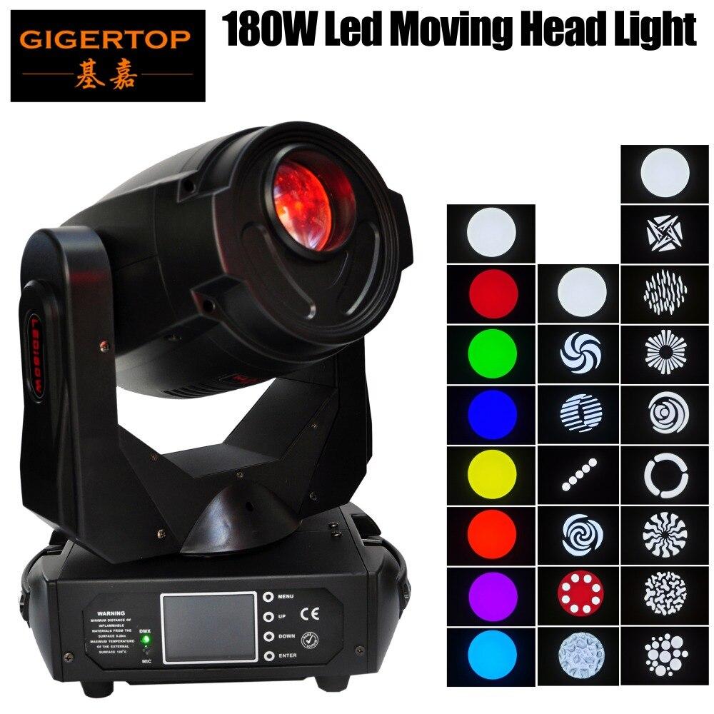 TP-L680 180 W TIPTOP DJ Led Moving Head Spot Luminaire Séparé couleur & Gobo Roues Mise Au Point Motorisée 4-bouton DMX 512 LED affichage