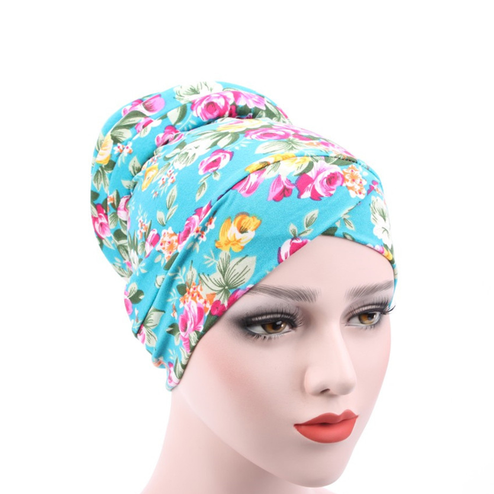 Cancer Adults Women Hats Turban Hair Loss Bonnet Chemotherapy Cap Headscarf Stretch Adjustable Ladies Gift Spring Muslim   Beanie