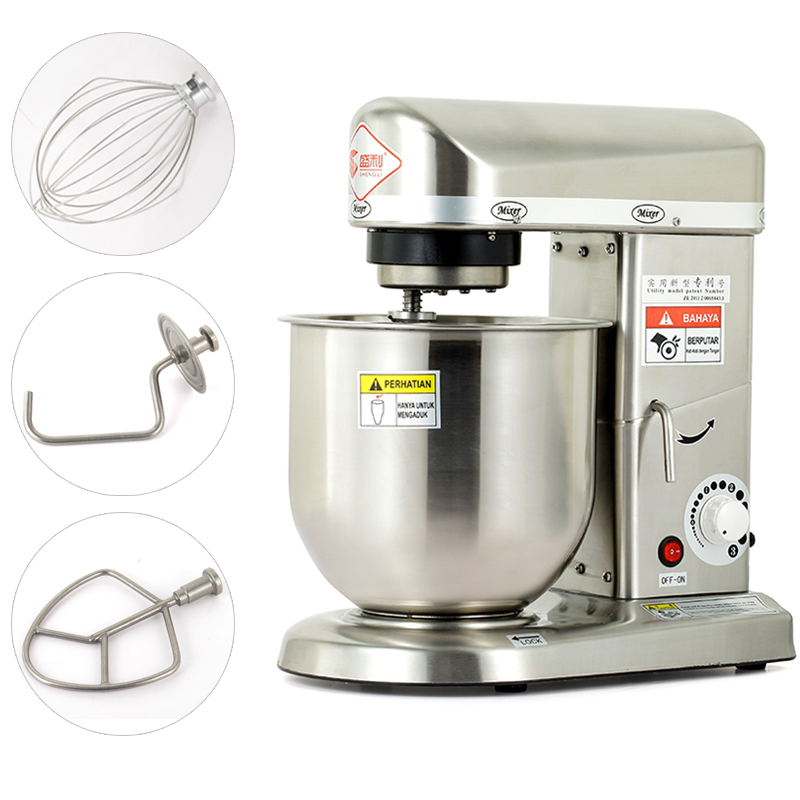 220V Home Use Or Commercial Use 5 7 10L Electric Stand Food Mixer Cooking Food Mixer