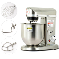 220V Home Use Or Commercial Use 5/7/10L Electric Stand Food Mixer Cooking Food Mixer Egg Beater Dough Mixer Machine EU/AU/UK