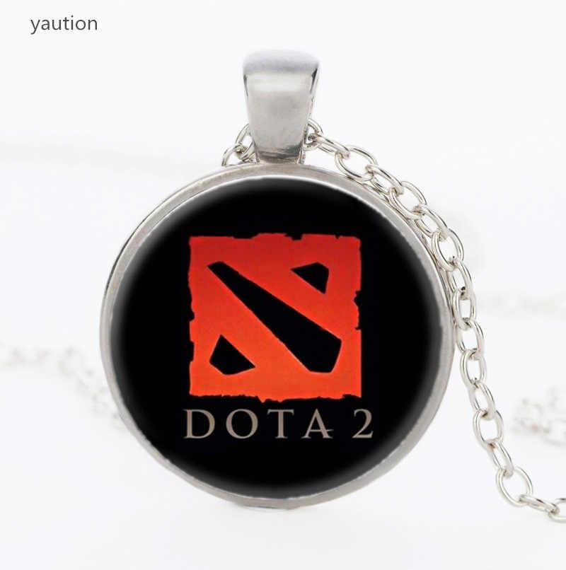 World Of Warcraft 2020 Fashion Kaca Cabochon Kalung Vintage Doda 2 Pernyataan Kalung Perhiasan Hadiah untuk Wanita