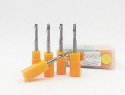5pcs high quality single flute endmill bits DJTOL 5 5 12mm cutting bits for Aluminium Solid