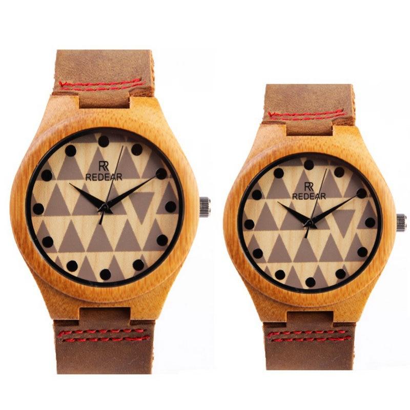 2017 new fashion woman men couple fashion watch simple wooden watch quartz watch