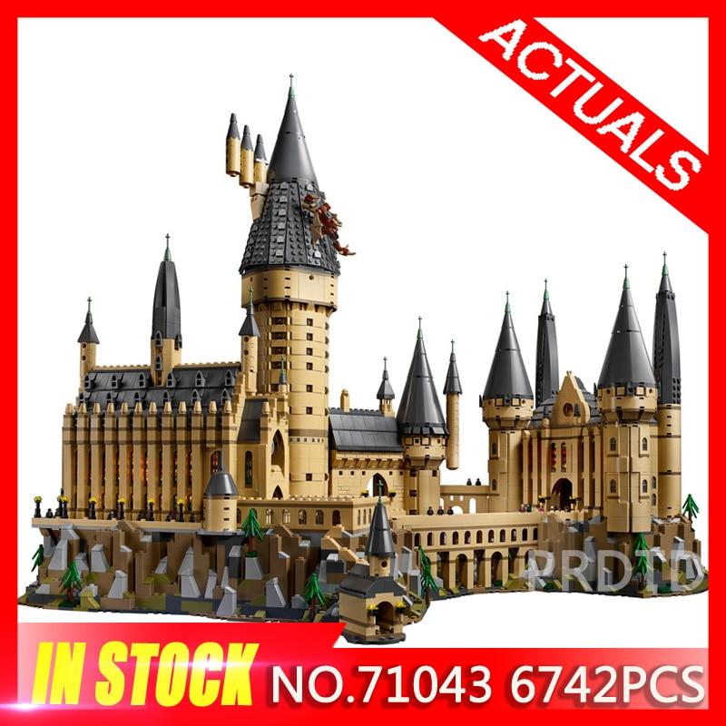 Nouveau Harry film Potter série le 71043 Legoing poudlard château Set blocs de construction briques enfants jouets maison modèle cadeaux de noël