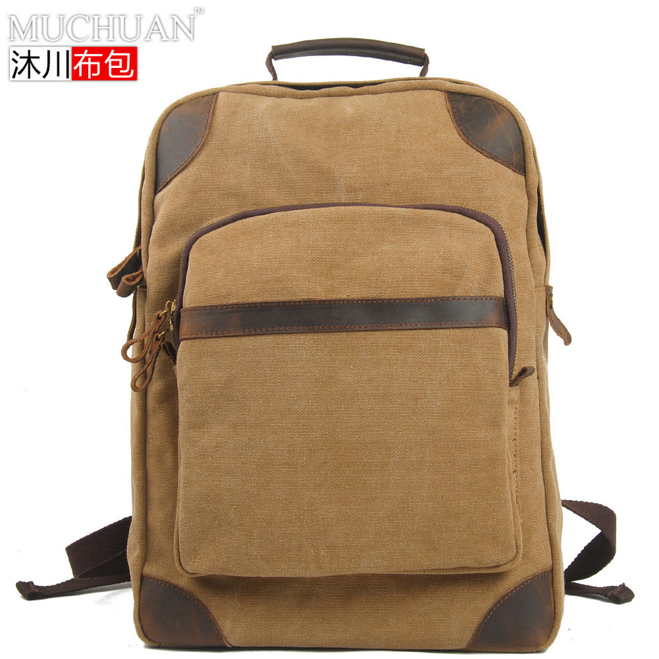 Muchuan Cloth Package England Restore Ways School Sail Cloth A Bag Leisure Time Computer Package Student Travel Both Shoulders  muchuan cloth 2014 european restore ancient ways trend man single shoulder package diagonal package ma am leisure time package