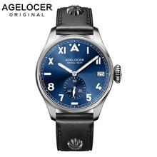 2016 Original Brand Agelcoer Mens Silver Roleingly Watches Men Luxury Waterproof Business Mechanical Watch Relogio Masculino