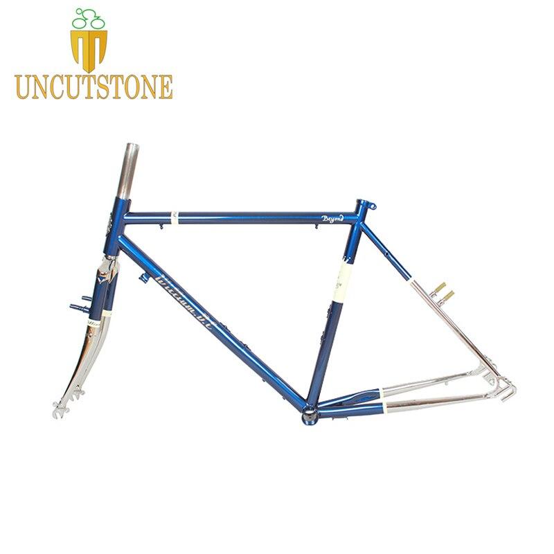 Cruisers Road Bike Frame 525 Chrome Molybdenum Touring Bike Frame  49 Cm 50 Cm 52 Cm 54 Cm  Road Bicycle Frame