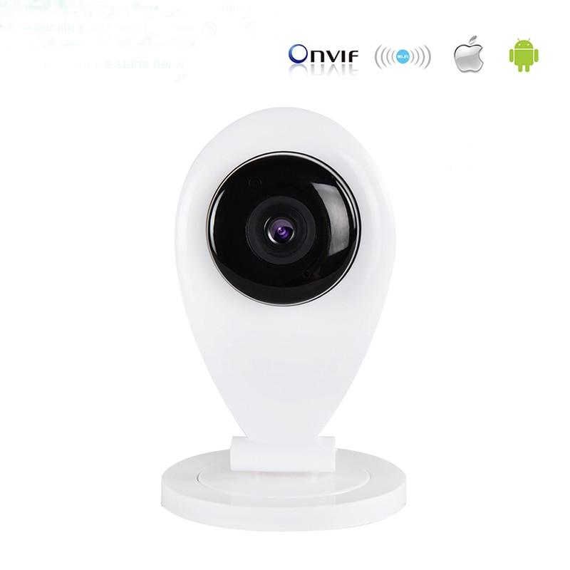 720P HD IP Camera WiFi H.264 P2P ONVIF P2P Plug Play Wirelss Card TF Card Storage night vision Network