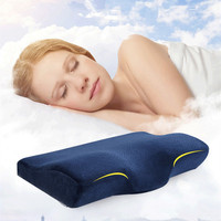 Hot Sale Orthopedic Latex Magnetic 50 30CM Neck Pillow Fiber Slow Rebound Memory Foam Pillow Cervical