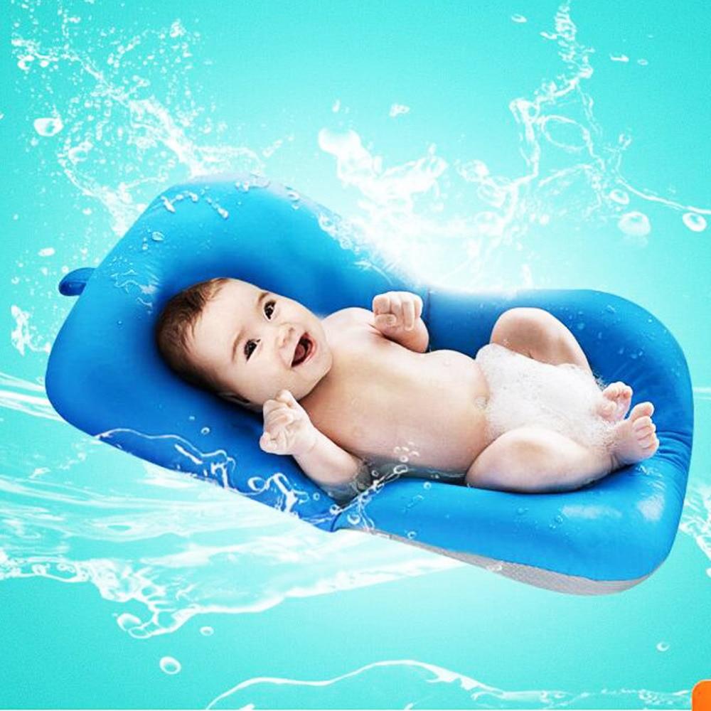 Newborn Baby Bath Tub Seat Adjustable Baby BathTub Rings Net ...
