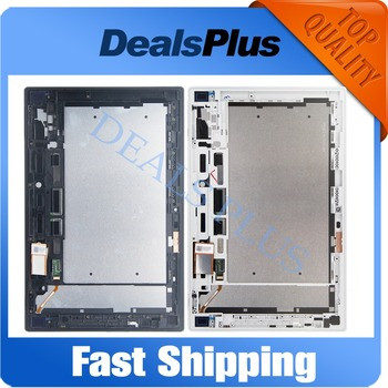 Replacement New LCD Display Touch Screen+Frame Assembly For Sony Xperia Tablet Z 10.1 SGP311 SGP312 SGP321 Black White