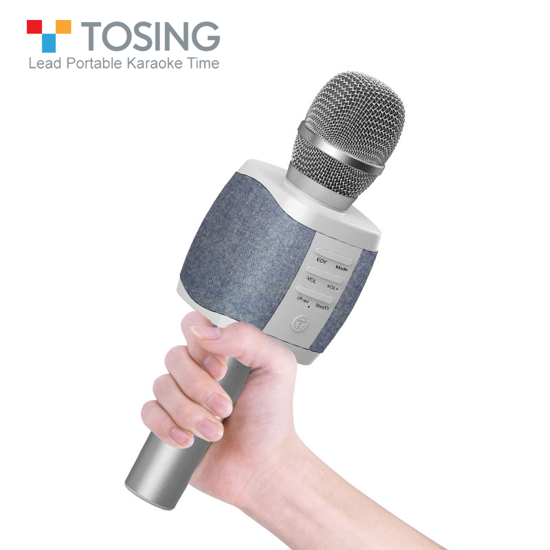 2019 New most popular professional bluetooth Handheld Wireless karaoke microphone for cell phone TV singing support
