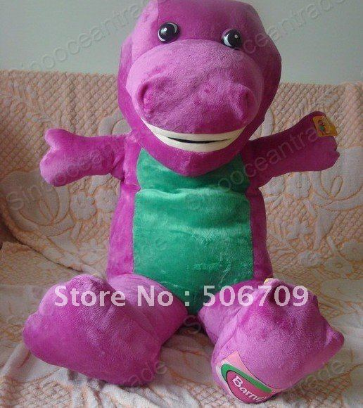 3 6 Feet Big Barney The Dinosaur Plush Stuffed Toy 43 Stuffed Plush