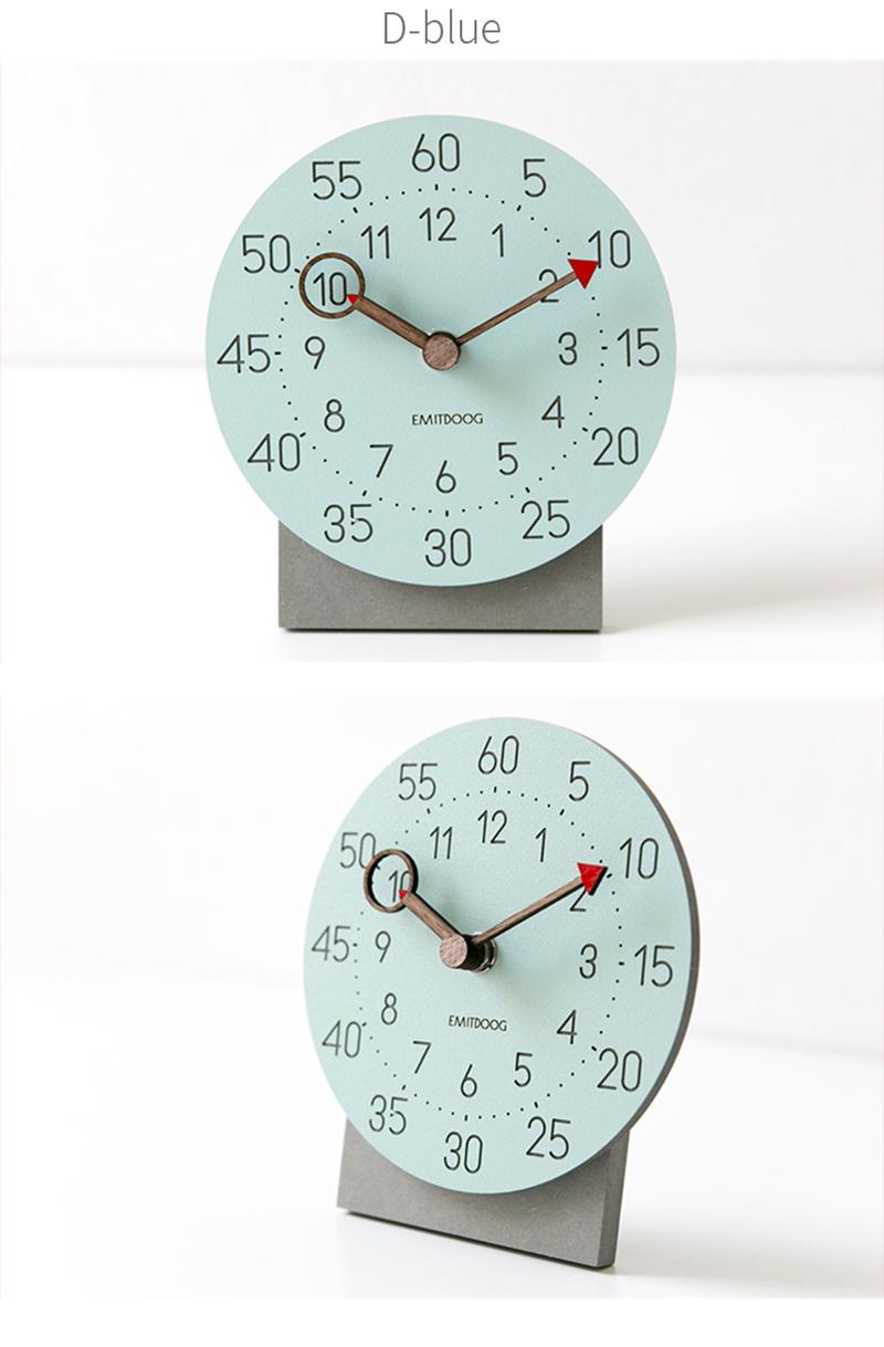 retro clock with time projection clock vintage reloj mesa vintage reloj antiguo automobile clock alarm clock bedroom clock clock flip watch table table clock (10)