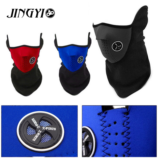 Balaclava Hat Warmer Winter Sports half Face Mask for Men women Ski Bike  Motorcycle Helmet Beanies Masked cap 046c9e258