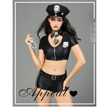 Sex appeal role-playing sexy lingerie police uniforms temptation Exotic Costumes