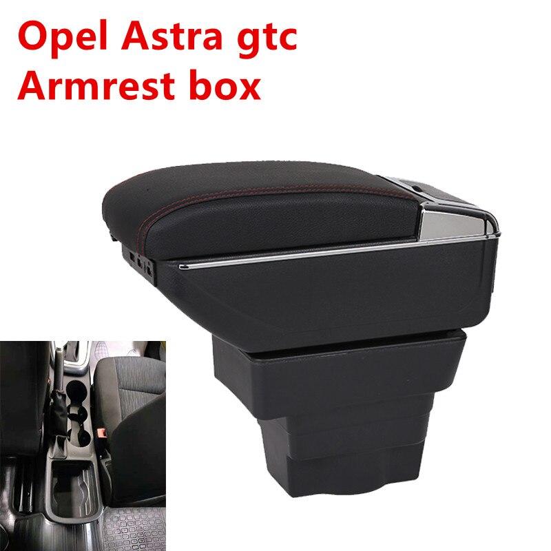 Para Opel Astra Opel Astra J Carro Universal Central Caixa de Braço Apoio de Braço Caixa de Armazenamento de suporte de copo cinzeiro acessórios modificação