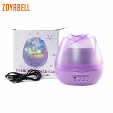zoyabell Rotating Night Light Star Projector Starry Sky Star Master Baby Kids Sleep Romantic Led Spin Battery USB Lamp Lighting