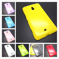 New Colorful silicone soft gel tpu cover case For Nokia 1320 for Lumia 1320 case flip cover