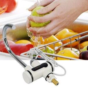 Image 4 - ATWFS anlık haznesiz su ısıtıcı musluk anlık musluk mutfak su ısıtıcı vinç anında sıcak su musluk dijital ab tak