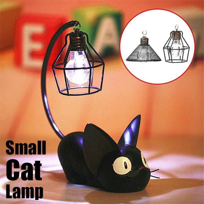 Smuxi C reative Harz Katze Tier Nacht Licht Ornamente Hause Dekoration Geschenk Kleine Katze Kindergarten Lampe Atem LED Nacht Licht