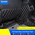 QHCP микрофибра Leathe автокресло анти-kick коврик подлокотник анти-ребенок-Kick Pad B столбы для Subaru Forester 2019 автомобильный Стайлинг