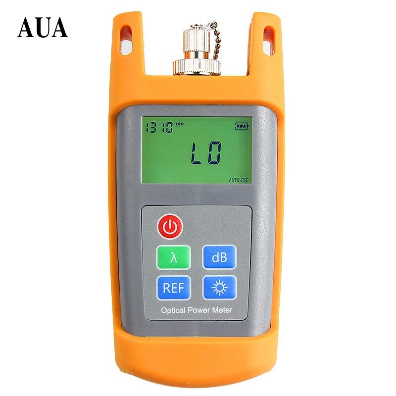 AUA-5026 Portable Adjustable Fiber Optical Power Meter Cable Tester range:-50~+26 send FC/SC connectors