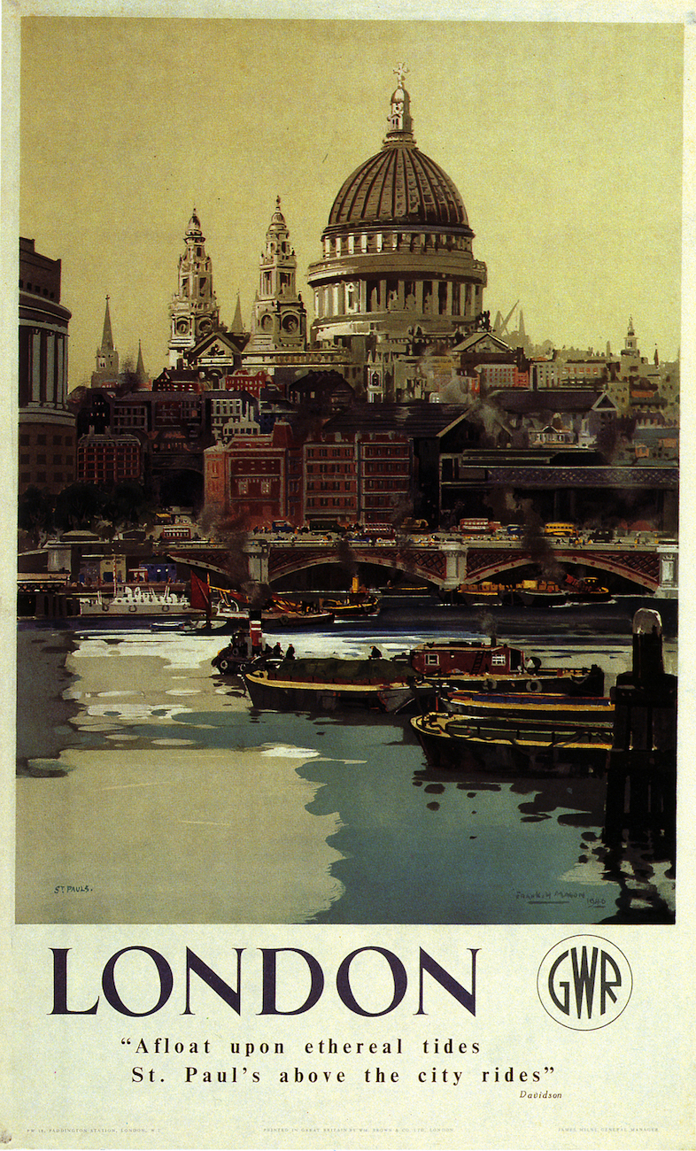 Shrewsbury Charming County Railway Vintage Old Picture Retro Poster A4 Print