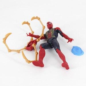 Image 3 - Avengers Endgame Infinity 4 figurines daction jouets Iron Man Thor Hulk Thanos capitaine docteur étrange poupée de collection pour les enfants