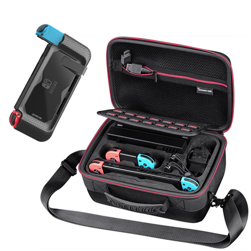 Smatree N500 For Switch Case Handbags NS Carrying Case Storage Carrying Case Portable Travel Bag for Nintend Switch Accessories smatree n500 for switch case handbags ns carrying case storage carrying case portable travel bag for nintend switch accessories