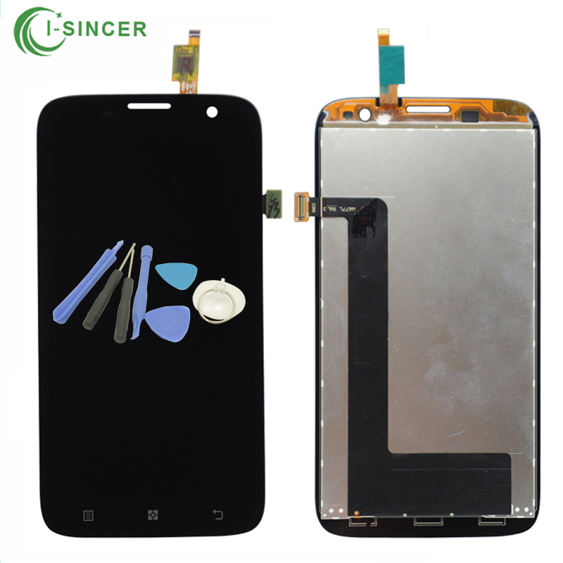 For Lenovo A859 LCD Display +Touch Screen Digitizer Assembly Black White + Tools Free Shipping 1 pcs for iphone 4s lcd display touch screen digitizer glass frame white black color free shipping free tools