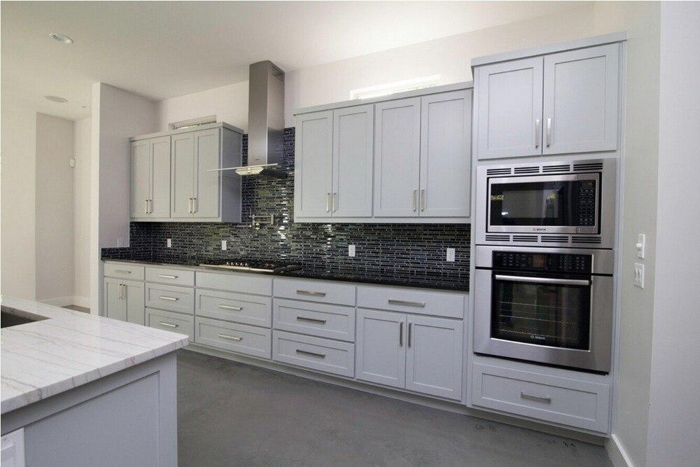 US $5800.0 |Solido mobili da cucina in legno di nuovo disegno bianco  tradizionale armadio da cucina da cucina mobili S1606027-in Accessori e  ricambi ...