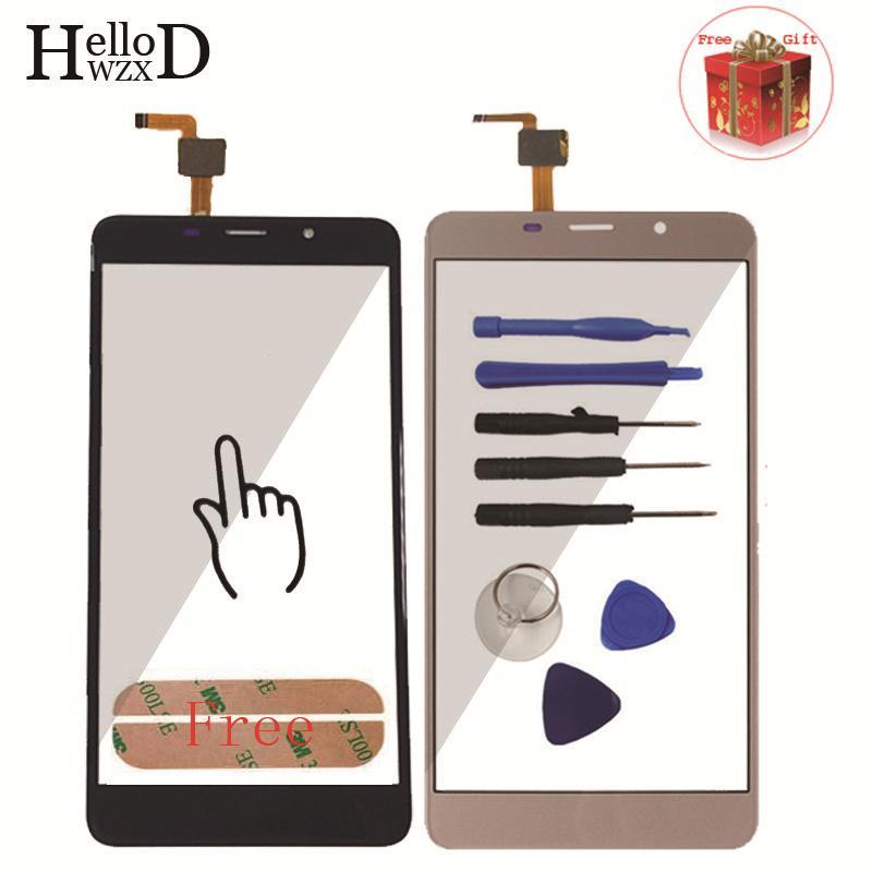 5,7 zoll Handy Touchscreen Für Leagoo M8/M8 Pro Touchscreen Glas Digitizer Verkleidungs-objektiv Sensor Kleber geschenk