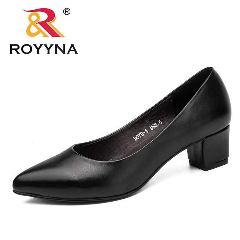 Женские туфли лодочки ROYYNA, классические туфли с острым носком, легкие и мягкие, бесплатная доставка|women pumps|wedding shoes comfortwomen shoes pointed toe | АлиЭкспресс