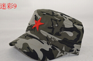 50 шт./партия Federal Express быстро в китайском стиле для женщин Мужская хлопковая Маскировочная шапка Регулируемая Повседневная бейсбольная кепка мягкая шапка - Цвет: 9