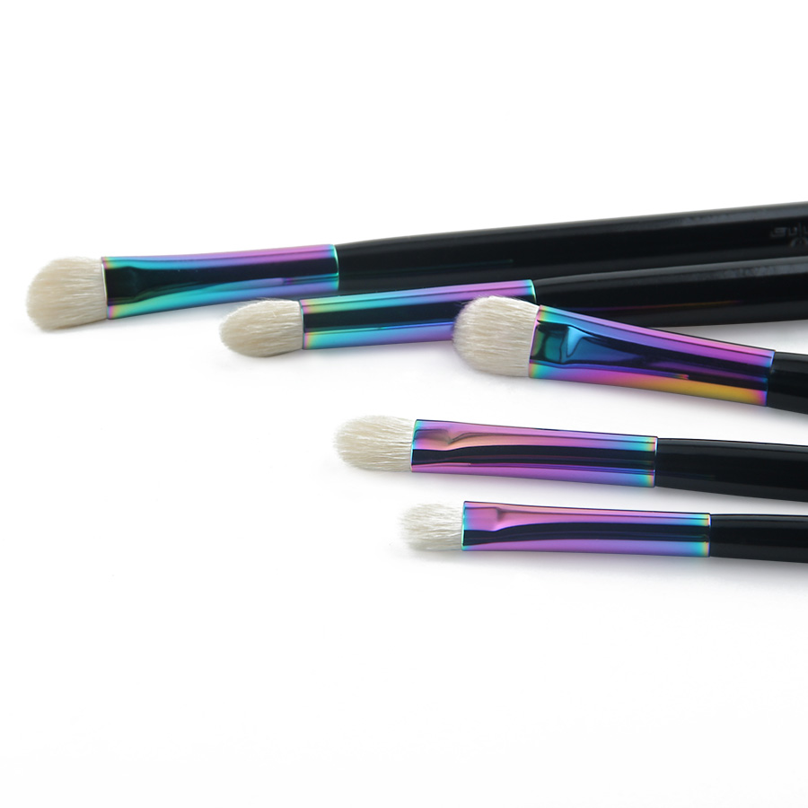 Anmor New Essential Eye Shadow Brush Set Rainbow Högkvalitativa - Smink - Foto 2