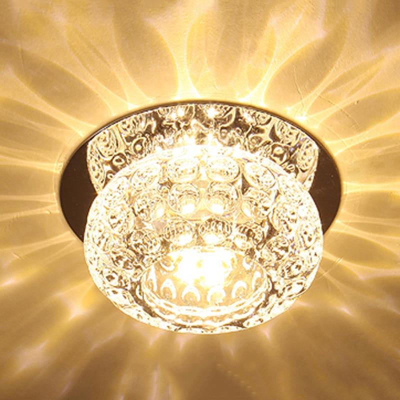 Provided 4pcs Fanlive Nordic Modern Minimalist Aisle Light Entrance Lamp Led Crystal Lamp Ceiling Lamp Ceiling Lights & Fans
