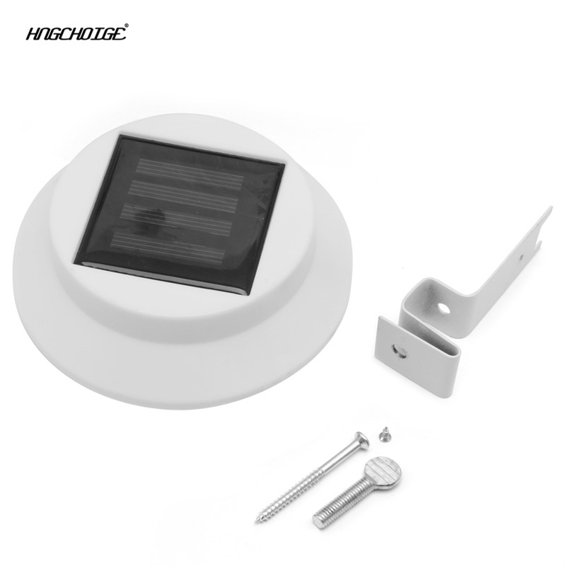 Lights & Lighting Hngchoige Solar Power Outdoor Garden Led Light Gutter Fence Wall With Bracket Waterproof Catalogues Will Be Sent Upon Request
