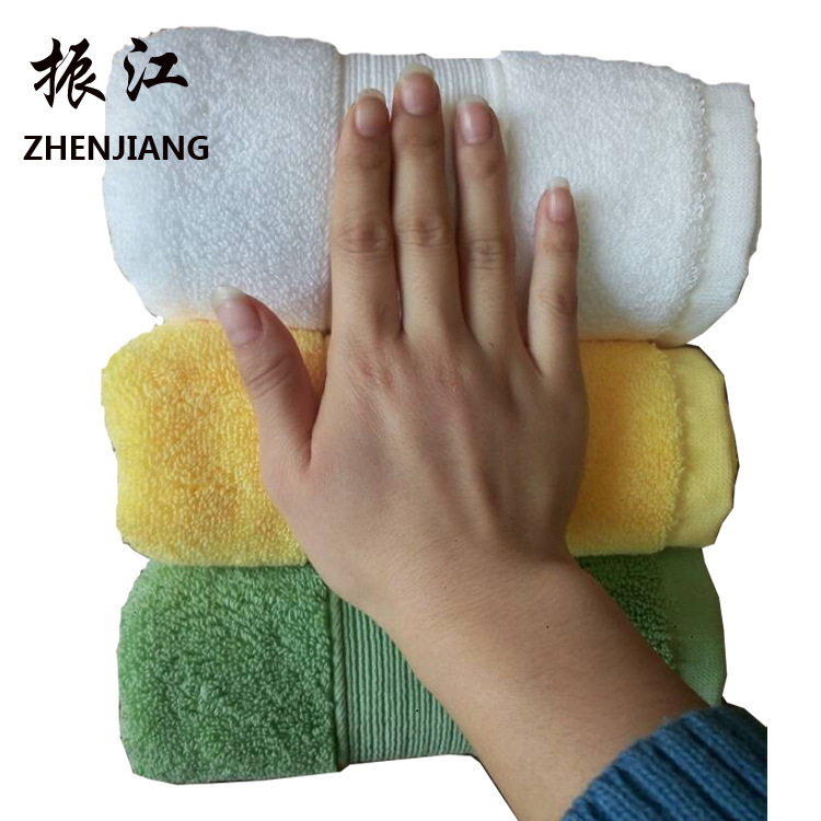 Image 2 - Home home textile comfortable towel, cross border pure cotton thickening towel, hotel supermarket gift wholesale-in Storage Bags from Home & Garden