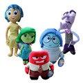 2015 новый Рождественские Подарки для детей Pixar Фильм Наизнанку плюшевые игрушки мультфильм Печаль Радость Страх Отвращение Гнев кукла