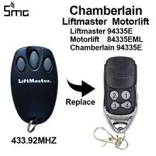 3 adet Chamberlain Motorlift Liftmaster 84330E 84335EML 94335E 94333E garaj kapı uzaktan kumandası açıcı kapısı kontrolü 433.92mhz