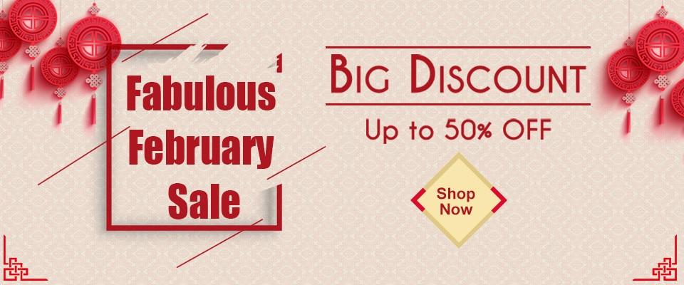 Fabulous February Sale