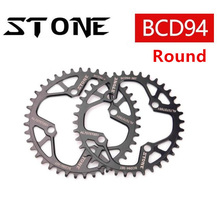 цена на Stone 94 BCD Round Chainring 32t 34t 36t 38t 40t 42T Bike Chainwheel Single Cycling Bicycle Tooth Plate 94bcd for sram X1 Kforce
